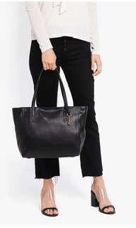 Authentic Fossil Emma Leather Tote Bag