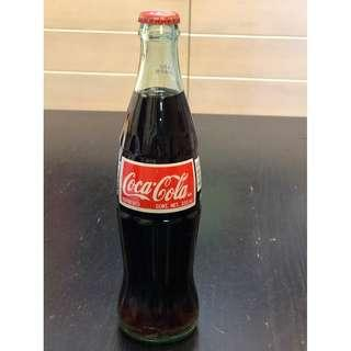 2002 Vintage Mexico Coca Cola 355 ml Green Bottle  2002經典墨西哥可口可樂 355毫升