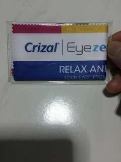 Crizal Spectacles Cleaning Cloth