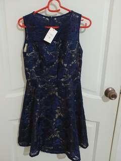 Blue Lacey Dress #MRTHougang