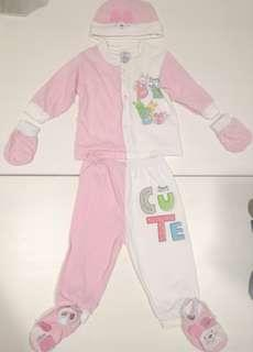 Pureen Newborn Set (for baby girl)