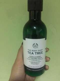 Tea Tree Toner The Body Shop
