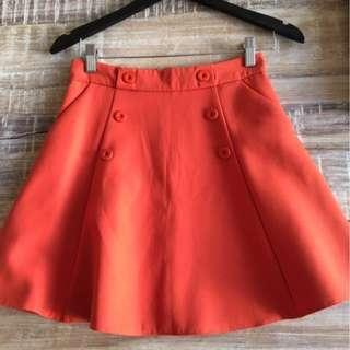 Beautiful, bright brand new skirt on sale (Promod)!