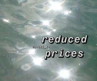 REDUCED PRICES + SALE #SwapAU