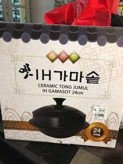 Korean ceramic wok