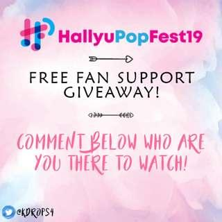 FREE FANSUPPORT GIVEAWAY!