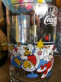 Cola-cola日版😍唐老鴨 絕版 玻璃杯🖒