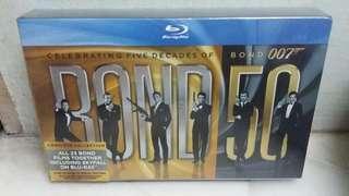 Bond 50 Collection [23 Bond Movies including Skyfall] Blu Ray