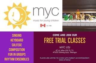 MYC Trial Class