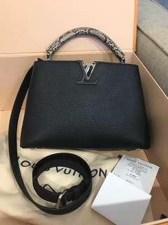 Louis Vuitton Capucines BB Python Bag