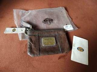 Fossil Emory Zip Coin Wallet