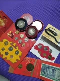 Sg old coins  6sets offer $118