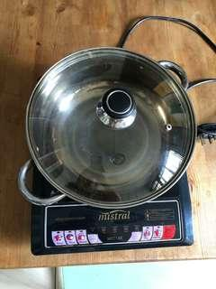 Mistral induction cookere