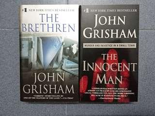 Books: The Brethen / The Innocent Man / Flood / Bronze Summer / The Secret / The Secret Revealed