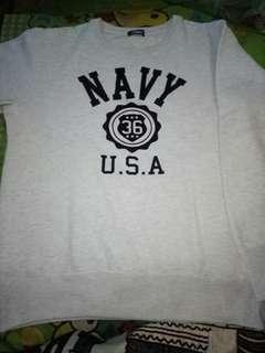 Sweater putih misty navy original