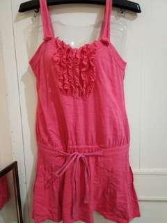 Mididress pink