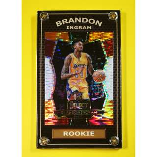 9b139b6ddd4 Hot 2016-17 Brandon Ingram Rookie Select Refractor NBA Card