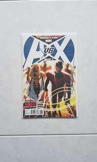 Signed by Oliver Coipel Marvel Comics Avengers vs X-Men 6 Near Mint Condition