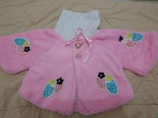 Jaket baby pink