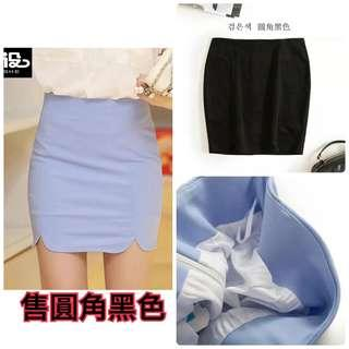 🚚 現貨S-短裙高腰彈力包臀修身窄裙