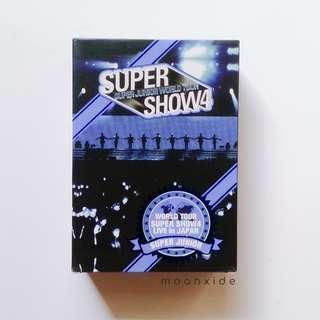 SUPER JUNIOR - SUPER SHOW 4 (SS4) DVD