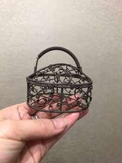 [擺件] 小提籃 可打開