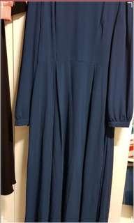 🚚 Long chiffon lined dress