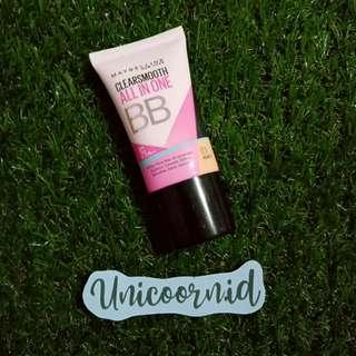 Free Ongkir Jabodetabek 🚚 Maybelline Clear Smooth All In One BB Cream - 03 HONEY