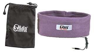 CozyPhones Sleep Headphones with Travel Bag - Purple