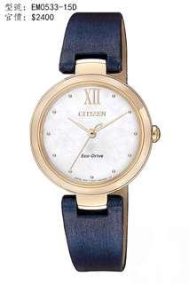 CITIZEN Watch 手錶 EM0533-15D