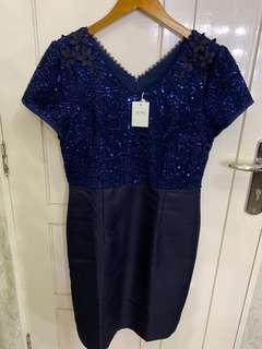 Dress blue donker