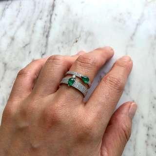 APM Monaco Ox Ring - size 54