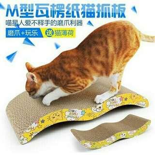 Cat kitten claw scratching board pad