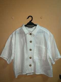 Cotton On Cropped Shirt