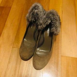 Venila suite 毛毛 三寸有platform 高踭鞋