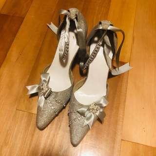 姊妹鞋 三吋高踭鞋