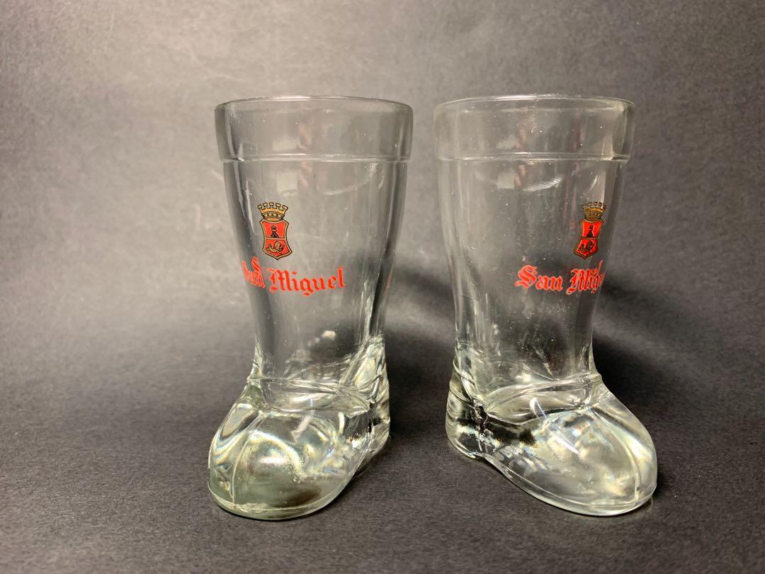 生力啤酒玻璃鞋2隻(擺設)