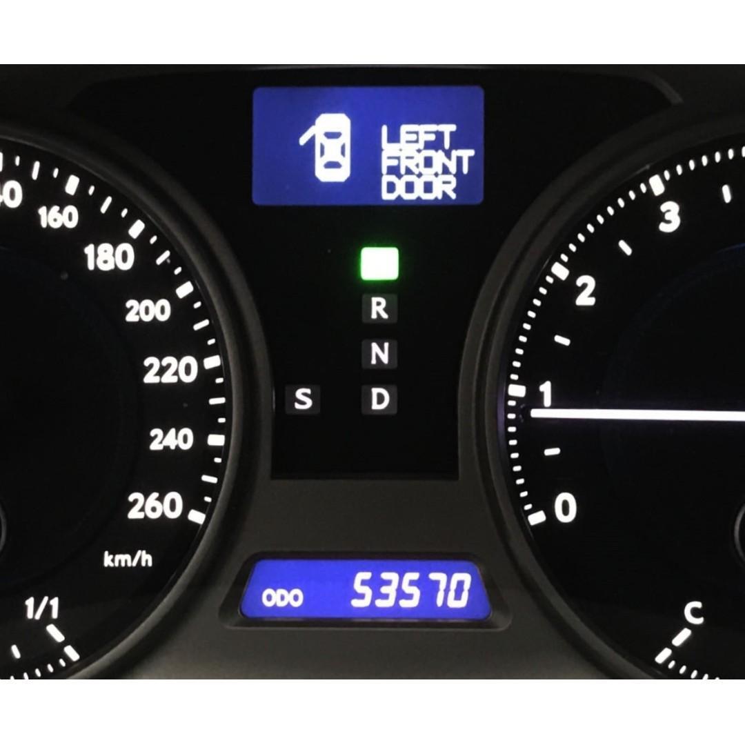 一手車 只跑五萬公里 頂級NAVI影音 2007年 LEXUS IS250 白2.5 頂級NAVI版