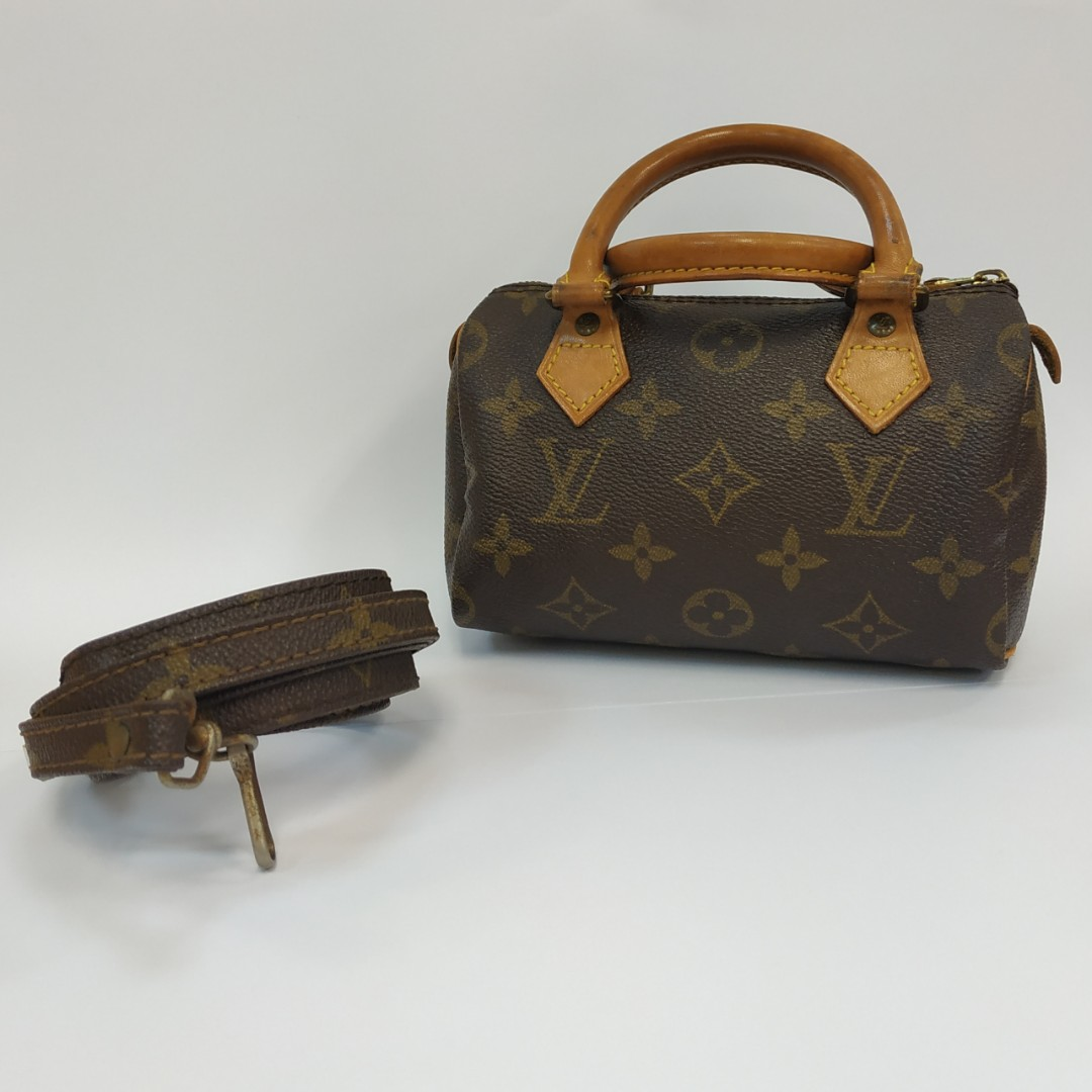 eae3ca3b764a8 💯 Authentic Louis Vuitton Monogram Nano Mini Speedy.