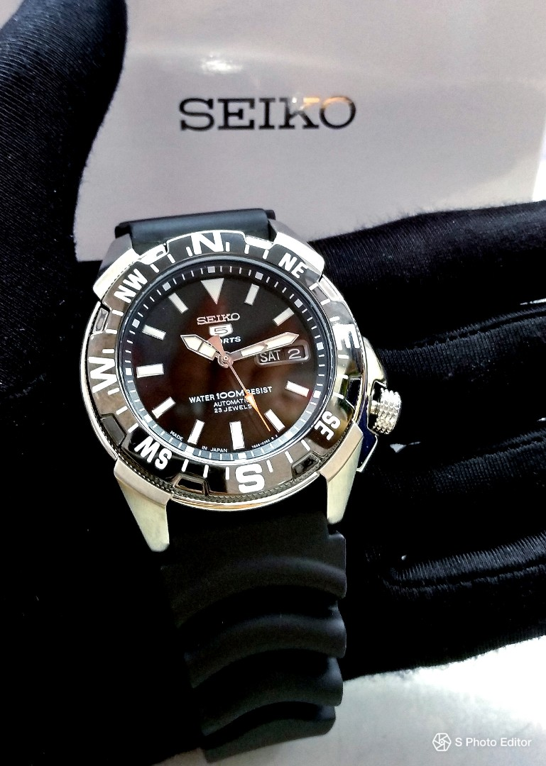 231a72146 FREE DELIVERY * Made In Japan Brand New 100% Authentic Seiko 5 ...