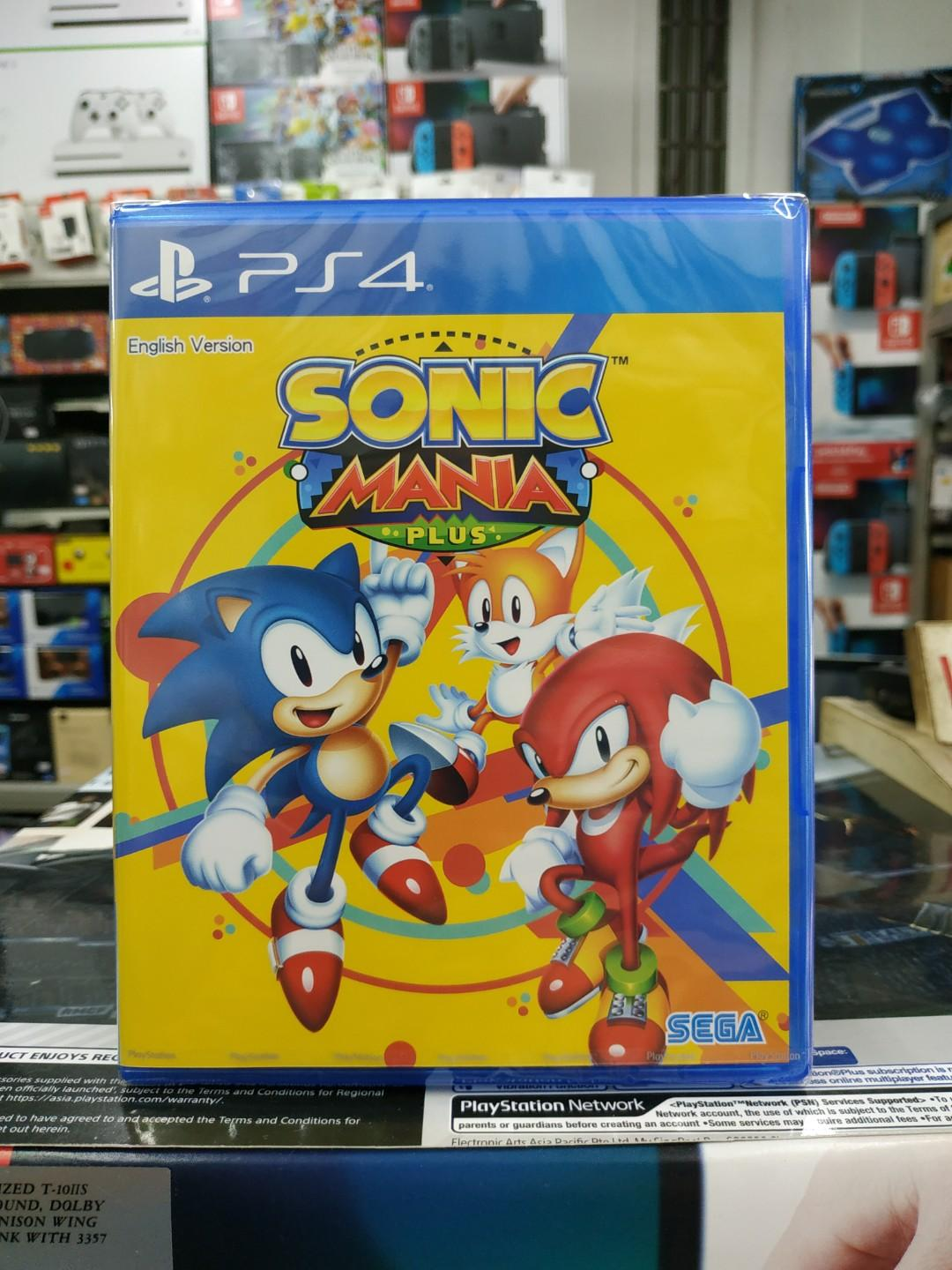 🆕 PS4 Sonic Mania Plus, Toys & Games, Video Gaming, Video