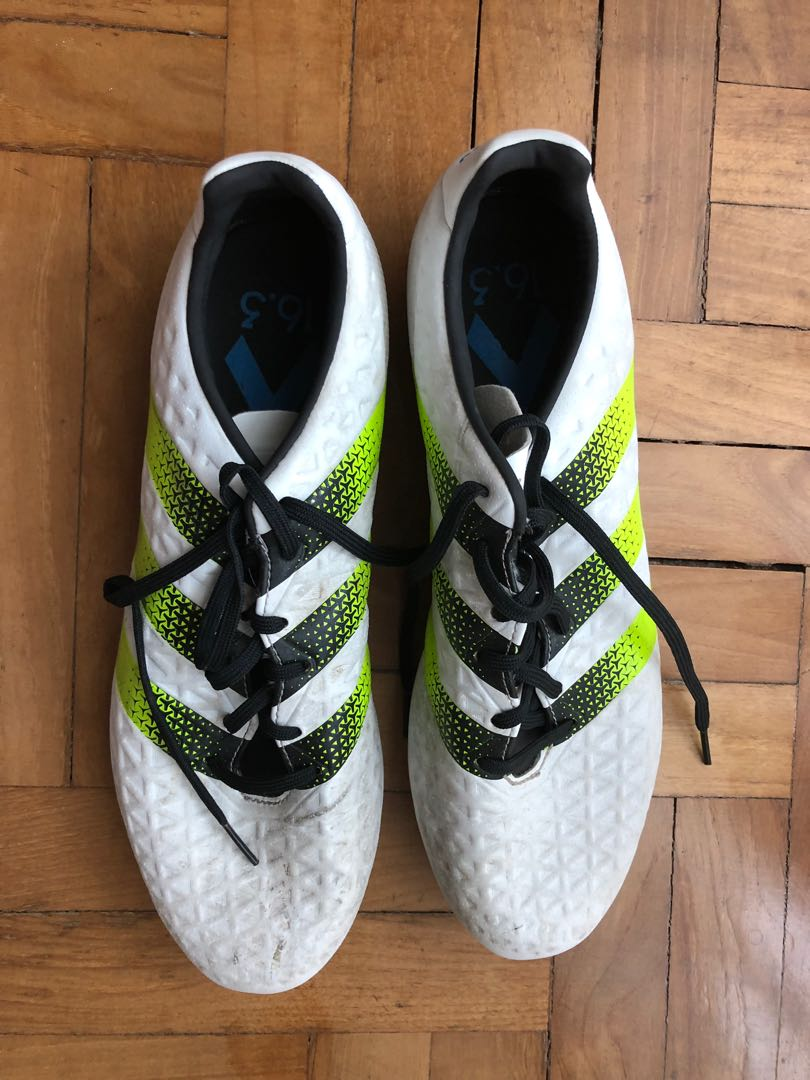abc5d8a67 Adidas football boots and Nike shin pads