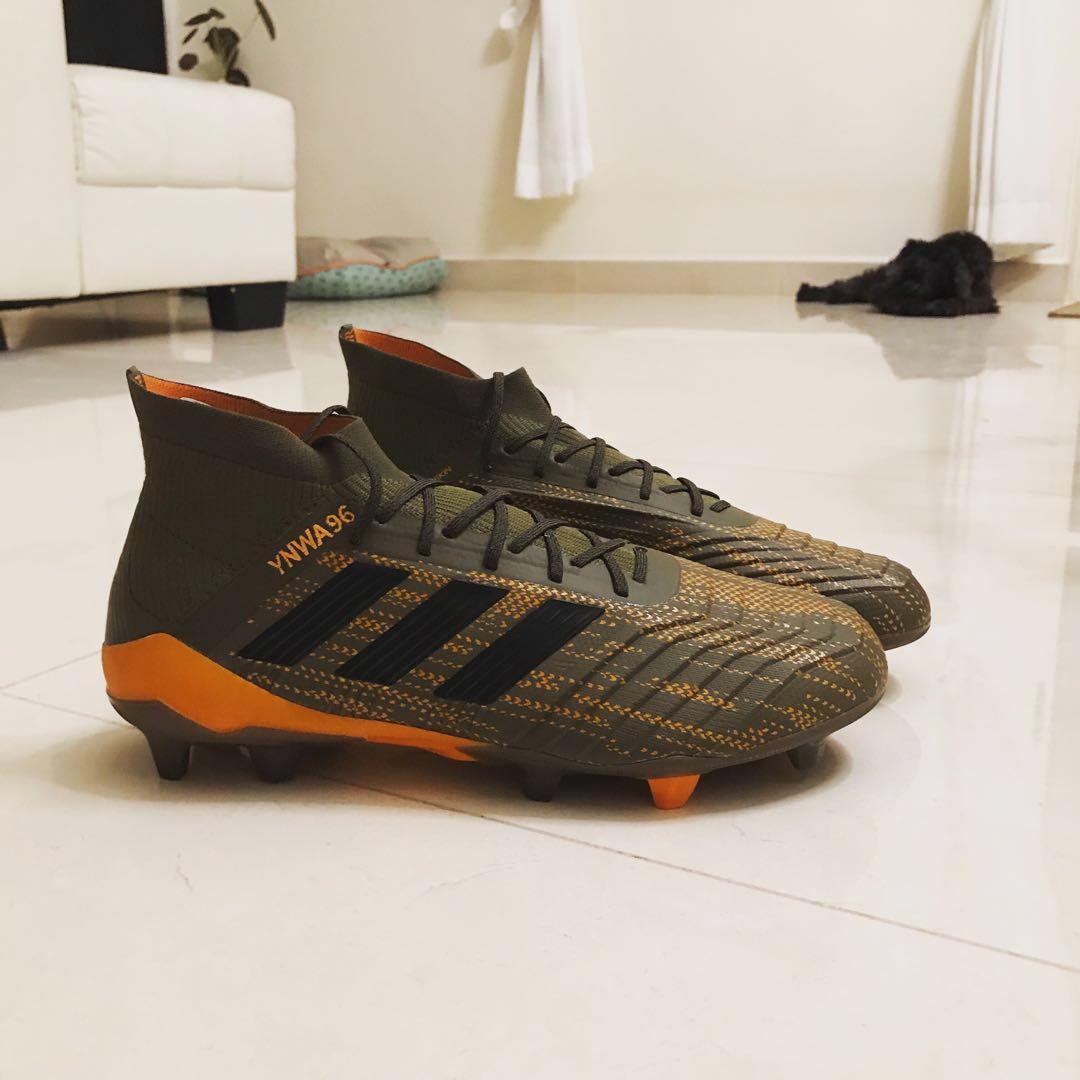 9f92ab428f4 Adidas Soccer Boots (brand new) Predator 18.1 FG (Lone Hunter Pack ...