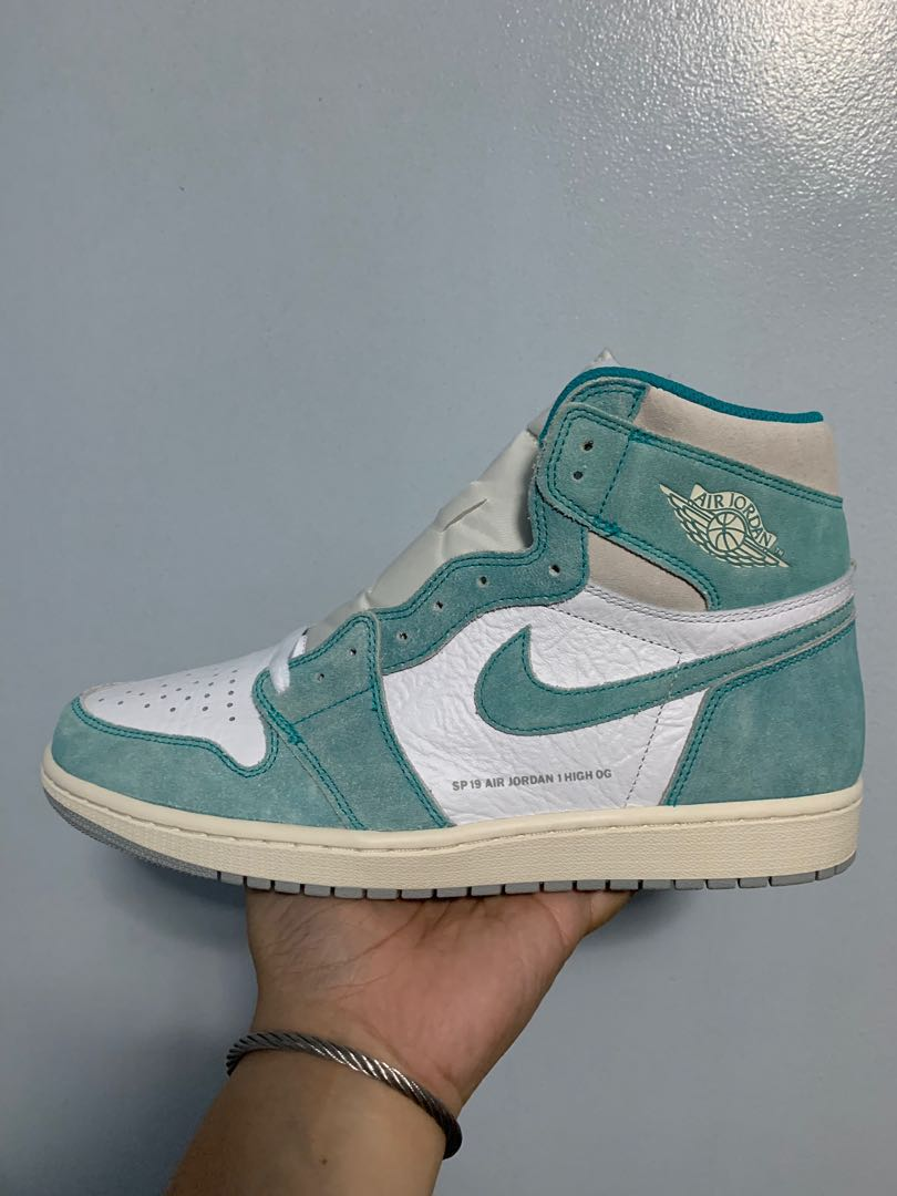 48fe2c80692 Air Jordan 1 Retro High OG 'Turbo Green', Men's Fashion, Footwear ...