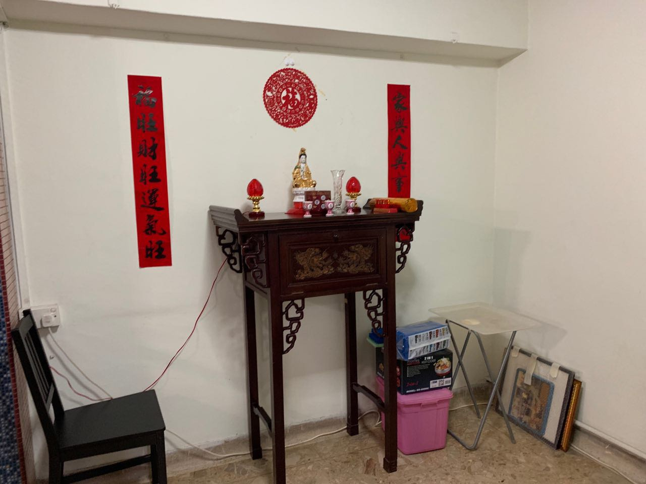 Altar Table Statues And Accessories Not Included Furniture