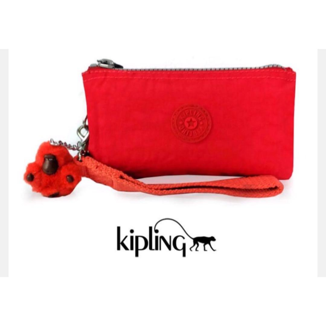 3b88478be Authentic Kipling Red Sling Bag on Carousell
