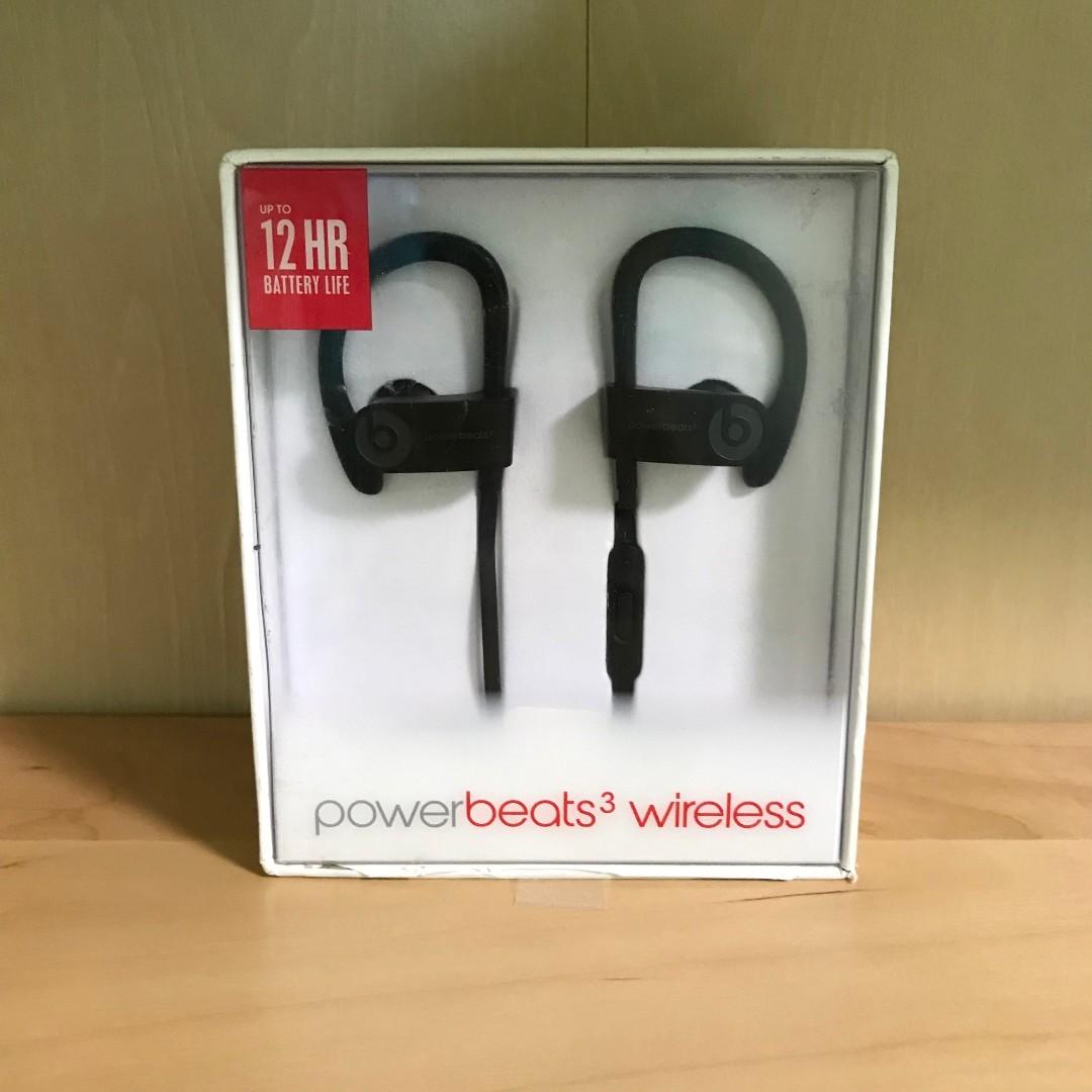 19548d0a2b6 Beats Powerbeats3 Wireless Sports Earphones (Black), Electronics ...