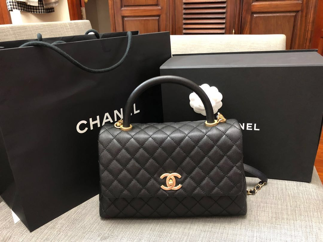5ea079e07a09 BNIB chanel bag coco handle #series27, Women's Fashion, Bags ...