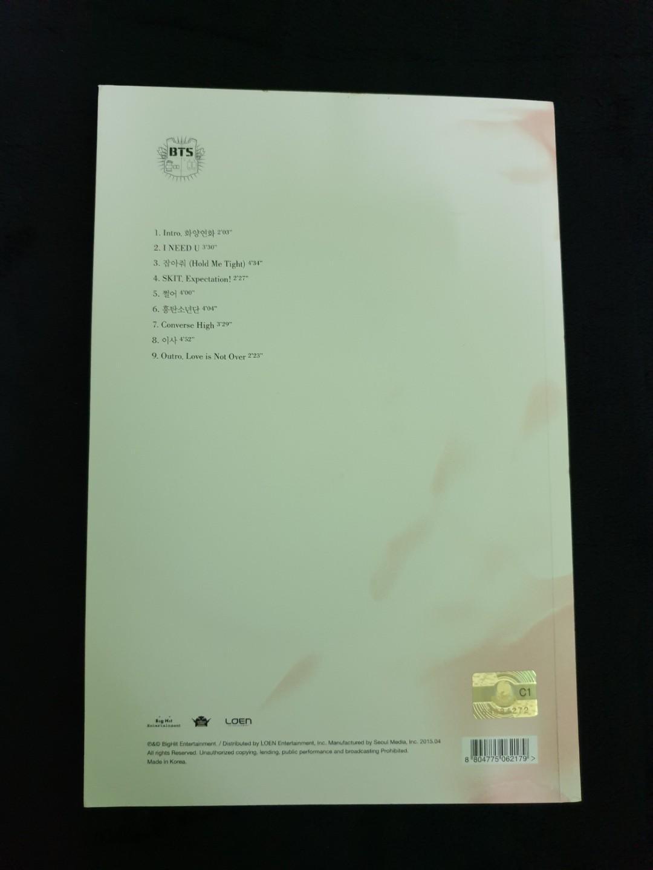 BTS HYYH Pt. 1 (Unsigned & Mwave V/Taehyung Signed), 2015