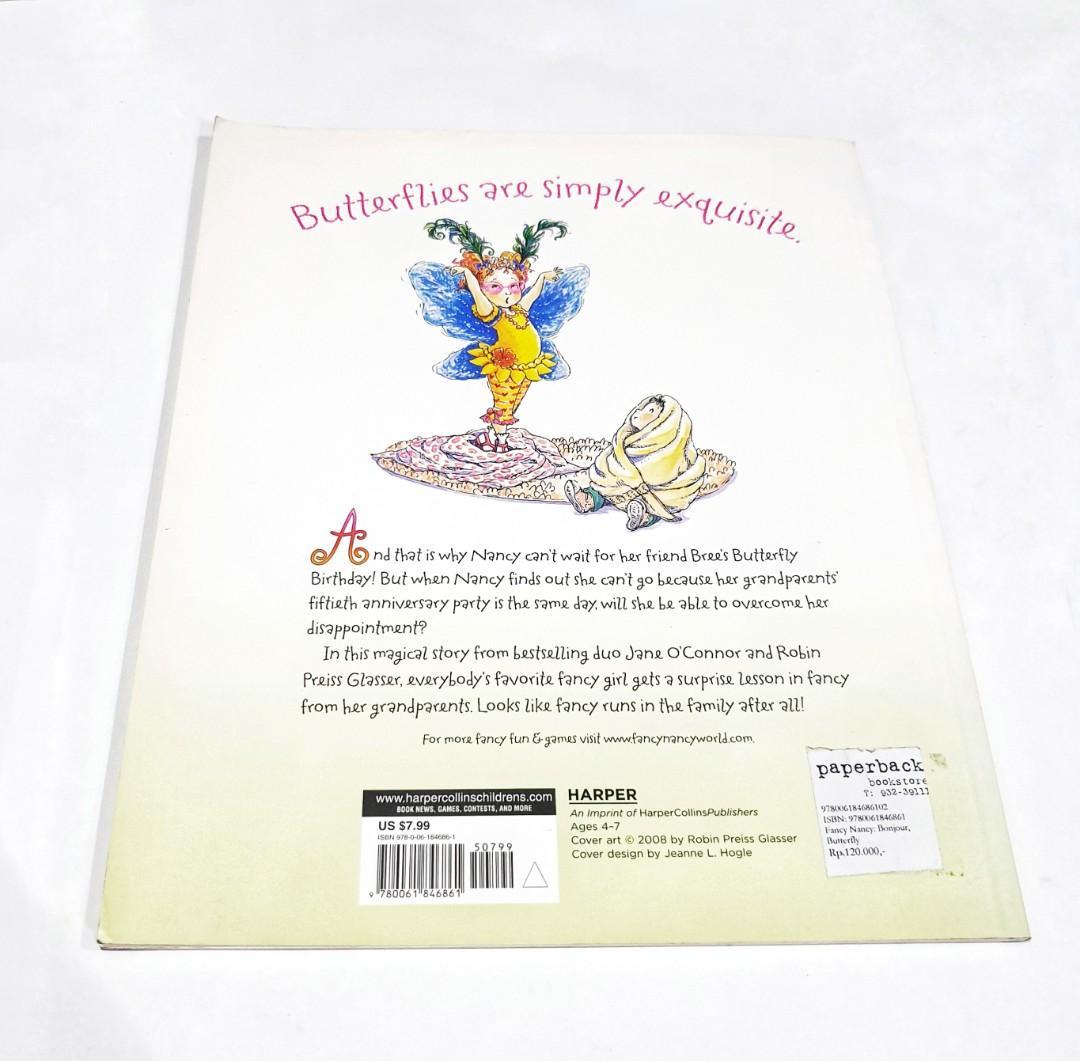 Buku Cerita Anak Inggris Fancy Nancy